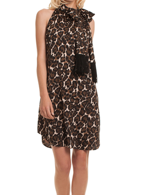 Trina Turk Leopard Iman Dress Dresses