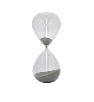 Three Hands Glass Sand Timer Home decor