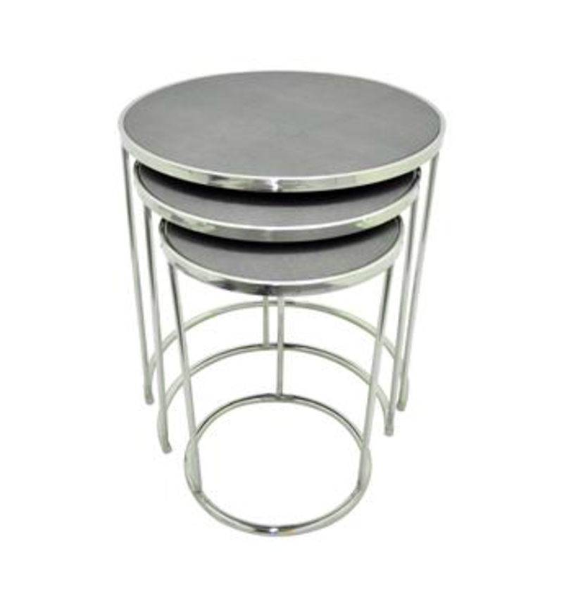 Three Hands Nesting Table Set Of 3 Home decor