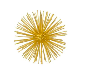 Three Hands Starburst Orb - Brass Gifts Home decor