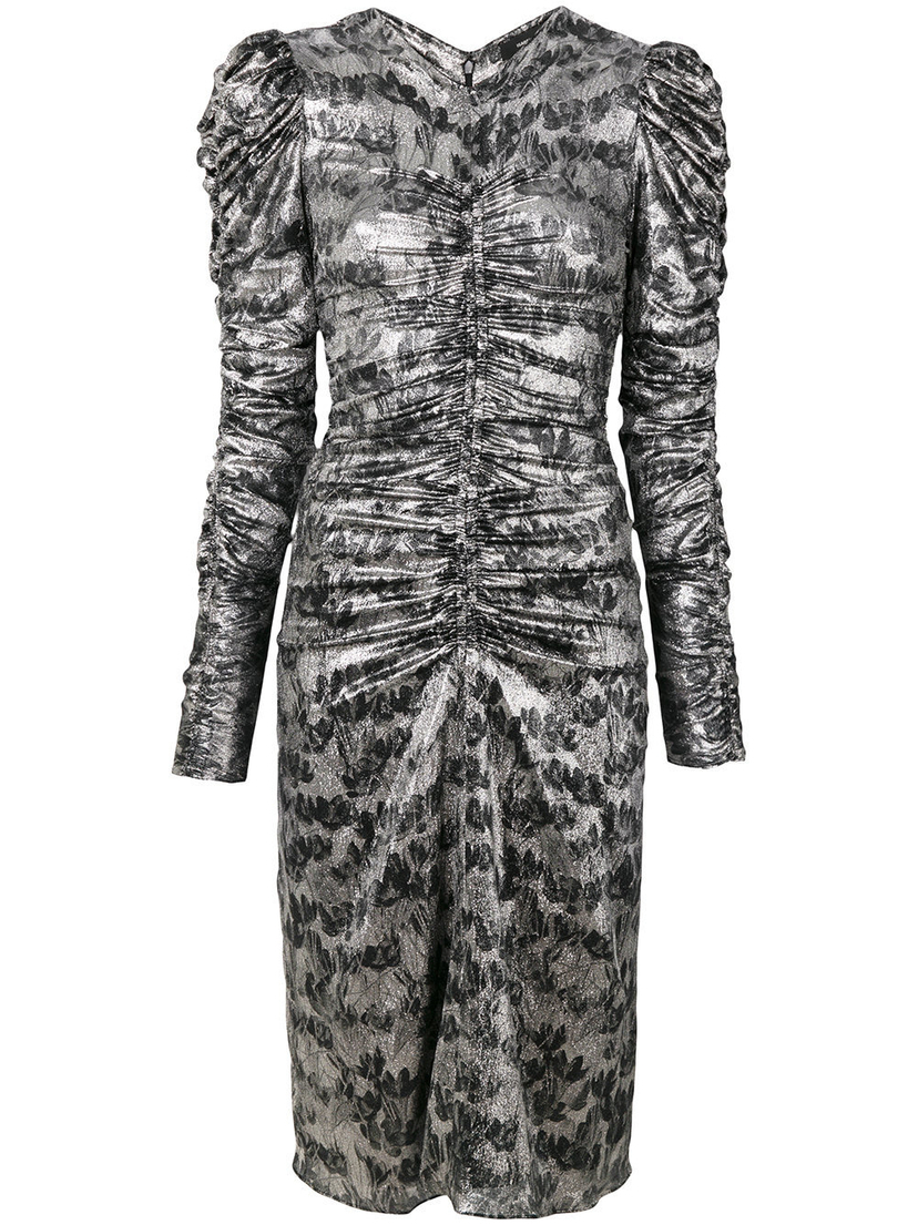 Isabel Marant Damia Dress in Silver (Originally $995) Dresses Sale