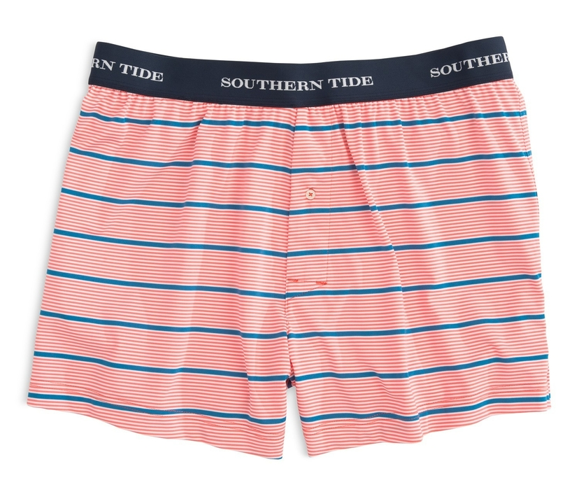 Southern Tide Turn Stripe Performance Boxer Accessories