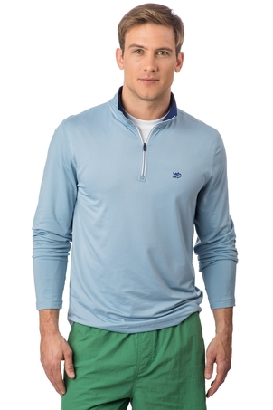 Southern Tide High Falls Performance 1/4 Zip Pullover
