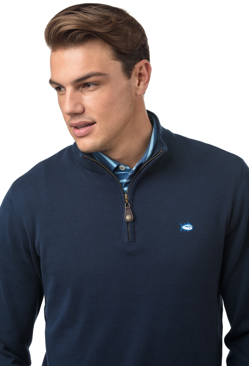 Southern Tide Alpenglow 1/4 Zip Sweater