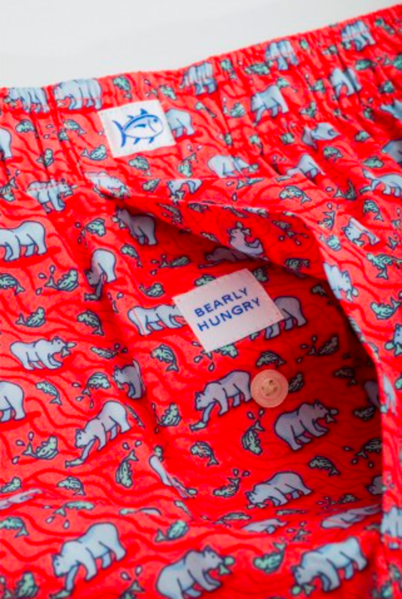 Southern Tide Bearly Hungover Boxer Accessories