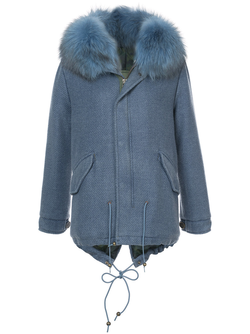 Mr. & Mrs. Italy London Mist Mini Parka Outerwear