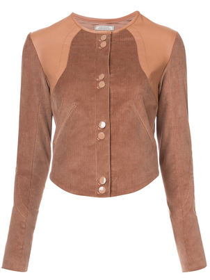 Nina Ricci Stretch Corduroy Jacket Outerwear