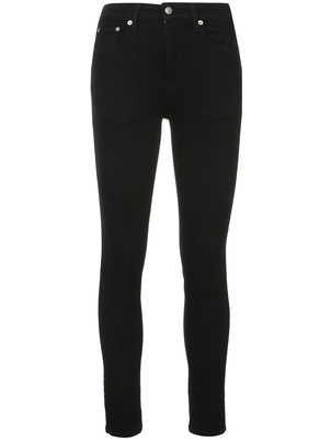 Brock Collection Black High Waist James Skinny Jean Pants