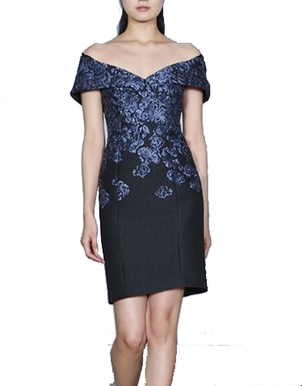 Kimora Lee Simmons Off Shoulder Floral Dress Dresses