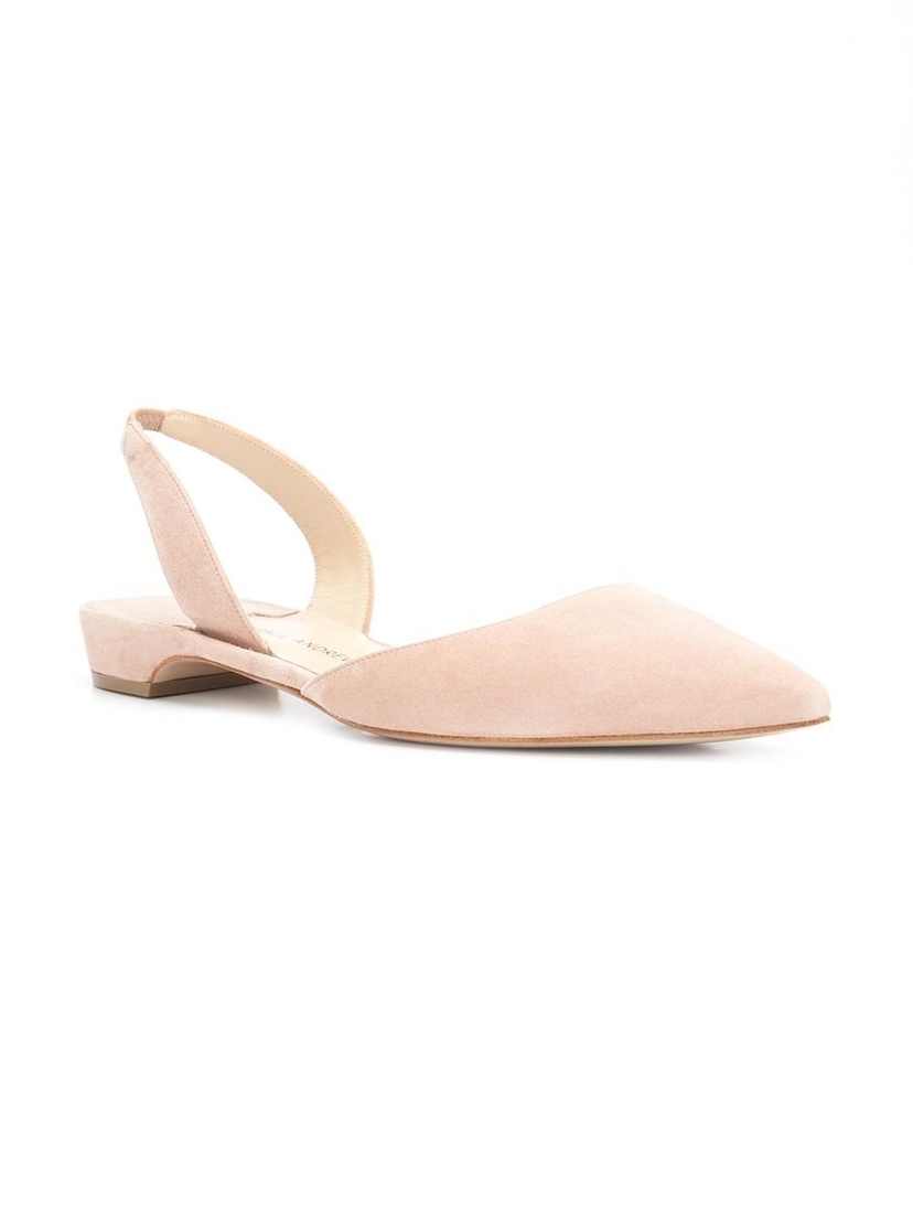 Paul Andrew Rhea Flat in Blush Shoes