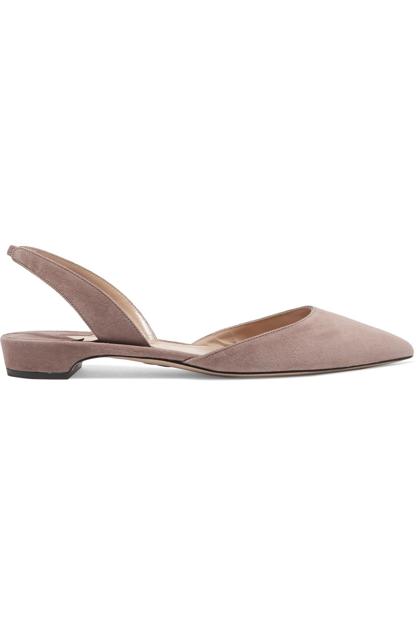 Paul Andrew Rhea Flats in Taupe Shoes
