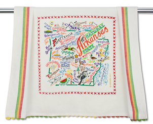 Arkansas Dish Towel Gifts Home decor