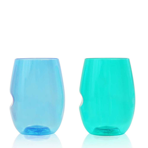 Go Vino Jewel Tone Shatterproof Glasses Gifts Home decor