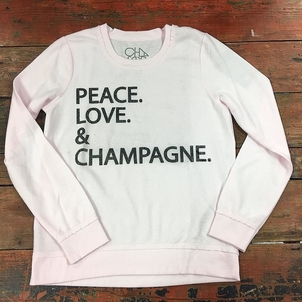 Chaser Peace, Love & Champagne Tops