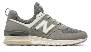 New Balance 574 Sport Gray/White Shoes