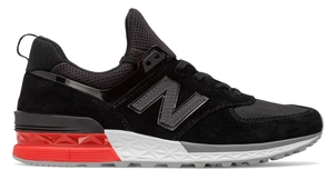 New Balance 574 Sport Gray/Black Shoes
