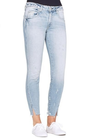 AMO Twist Fray Jeans in Fairfax Pants