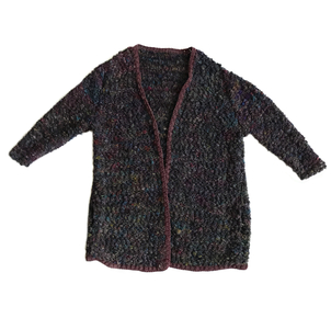 Just Say Native Handknit Oversize Cardigan Sweater Tops