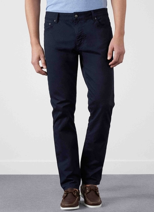 Hackett Trinity Twill 5 Pocket Pant Navy Pants
