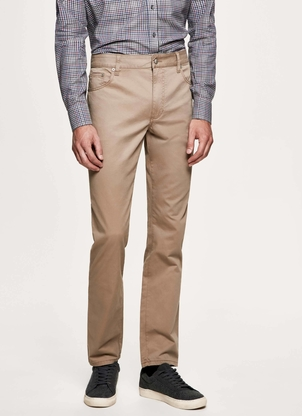 Hackett Trinity Twill 5 Pocket Pant Sand Pants