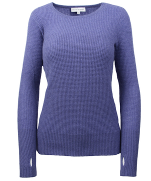White + Warren Cashmere Thermal Crew Neck Tops