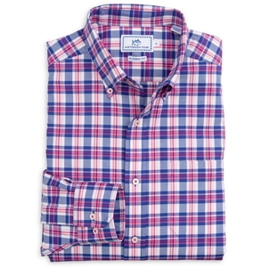Southern Tide Port of Savannah Sportshirt Tops