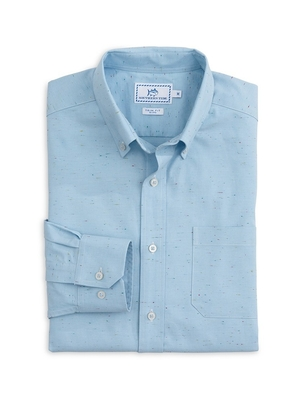 Southern Tide Chambray Sports Shirt Tops