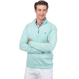 Southern Tide Men's Heathered Skipjack 1/4 Zip Pullover