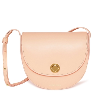 Mansur Gavriel Calf Mini Saddle Bag in Rosa Bags