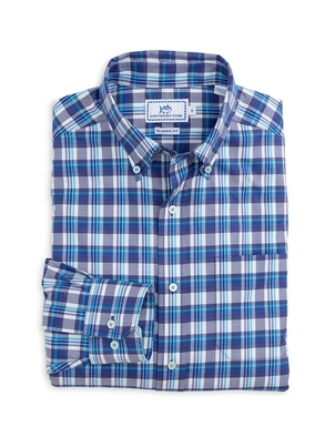 Southern Tide Port of Savannah Sports Shirt Tops