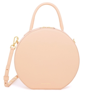 Mansur Gavriel Calf Circle Crossbody in Rosa Bags