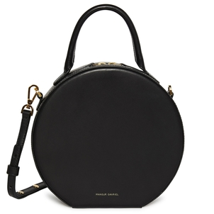 Mansur Gavriel Circle Crossbody in Black Bags