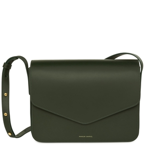 Mansur Gavriel Calf Envelope Crossbody in Moss Bags