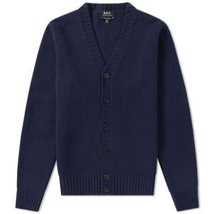 A.P.C. BELL CARDIGAN DARK NAVY Men's
