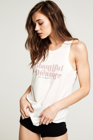 Spiritual Gangster Beautiful Dreamer Studio Tank Tops