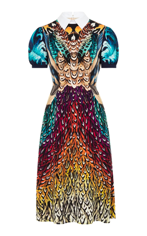 Mary Katrantzou Osprey Printed Knee Length Dresss Dresses