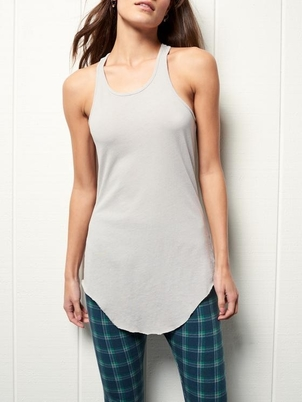 Tee Lab by Frank & Eileen Layer Tank in Grey Tops