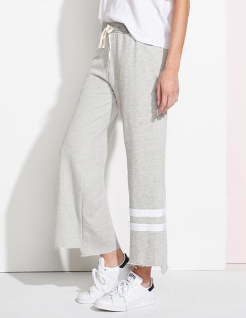 Sundry Striped Flare Sweatpants Pants
