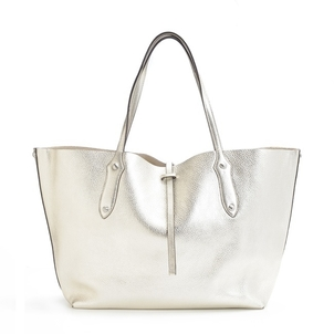 Annabel Ingall Small Isabella Tote - Silver Bags