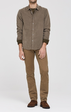 Citizens of Humanity Bowery Standard Slim in Driftwood Corduroy Pants