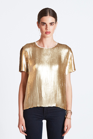 Chan Luu Vienna Sequined Tee (more colors) Tops