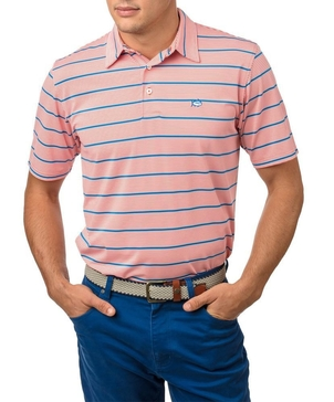 Southern Tide The Turn Stripe Performance Polo Tops