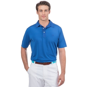 Southern Tide Game Set Match Stripe Performance Polo Tops