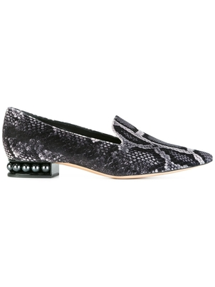 Nicholas Kirkwood Casati Pearl Loafers in Python (Originally $725) Sale Shoes