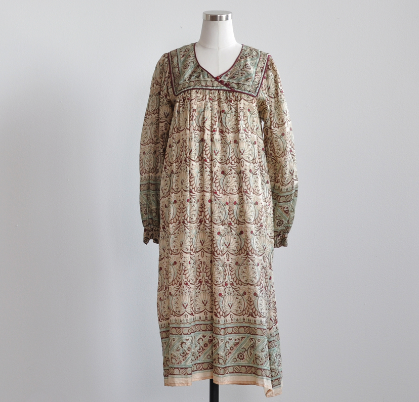 Just Say Native Her Excellency Silk Indian Dress Dresses
