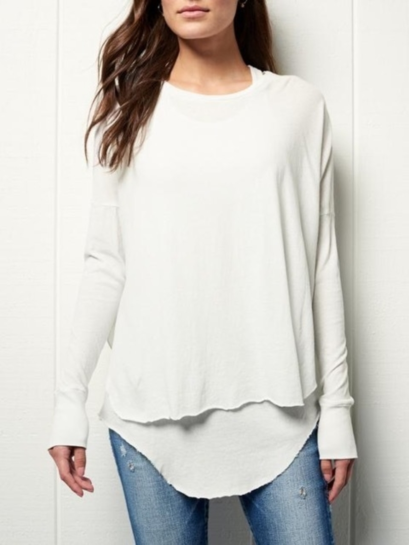 Frank & Eileen Side Slit Tee Tops