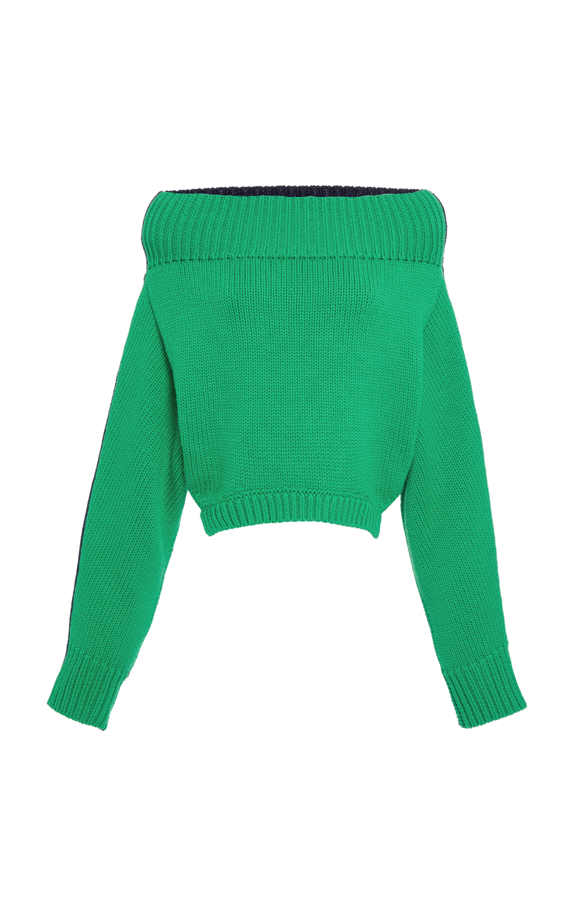 Monse Upside Down Wool Pullover Tops