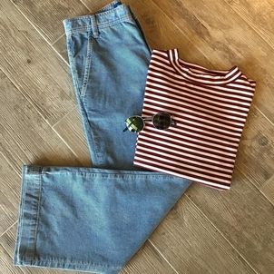 Krewe M.i.h Jeans Cool cords and a striped tee Accessories Pants Tops