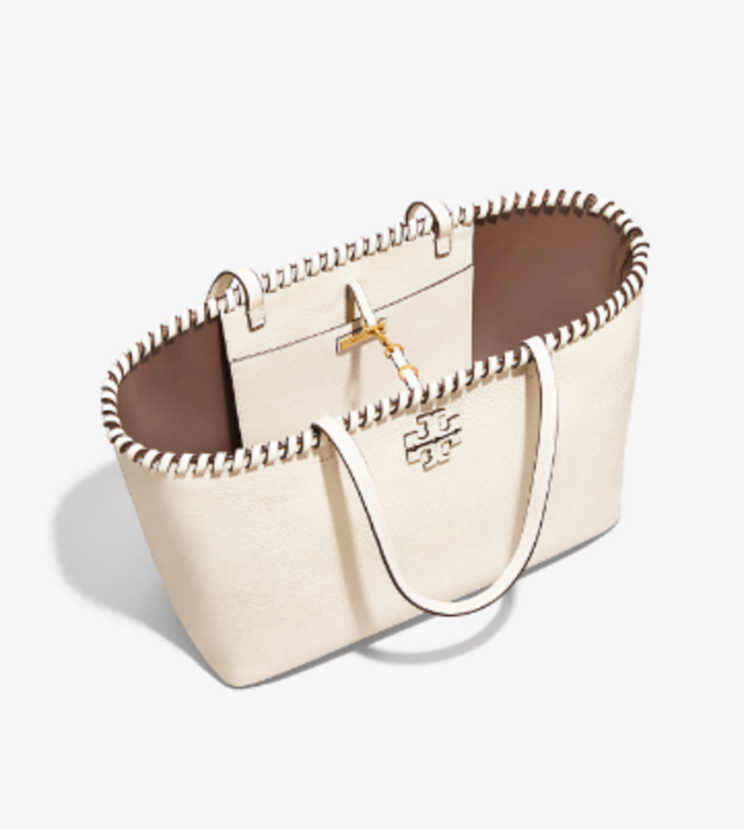 Tory Burch McGraw Whipstitch Tote Bags