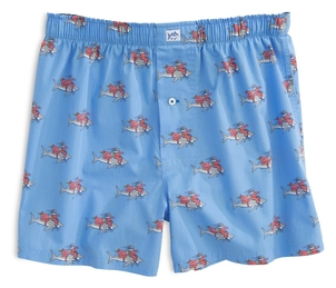 Southern Tide Great White Christmas Boxer Accessories